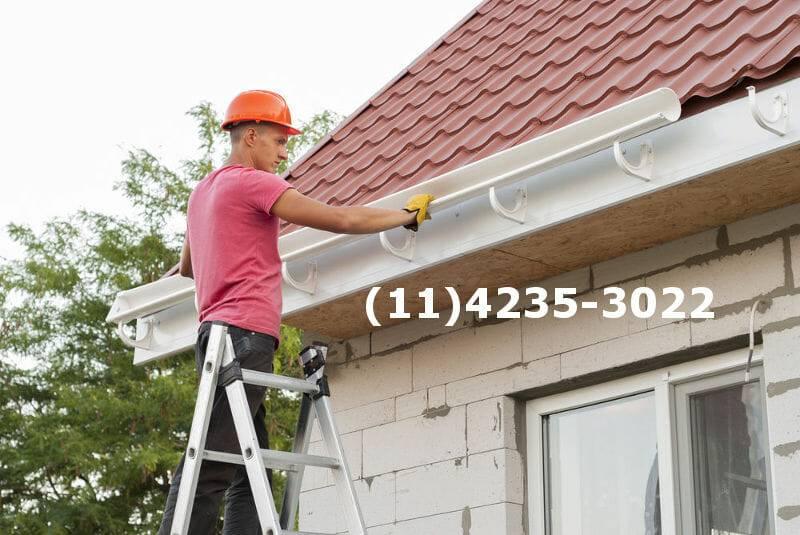 serviço de instalação e manutenção de calha em diadema